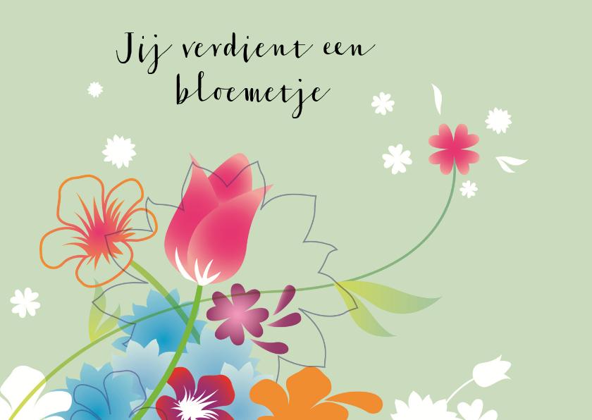 Bloemenkaarten - Moderne Bloemenkaart
