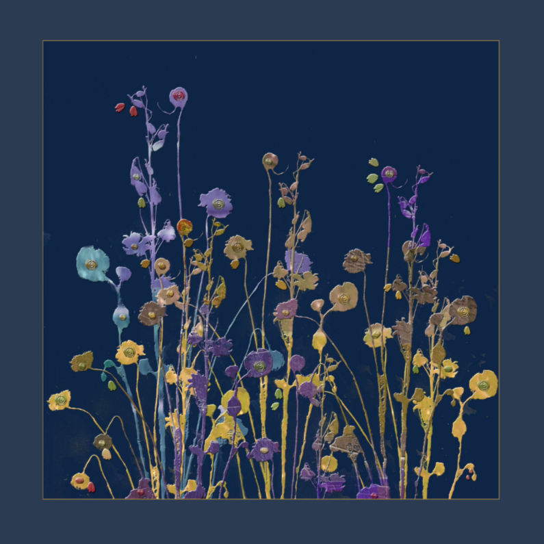 Bloemenkaarten - Veldboeket