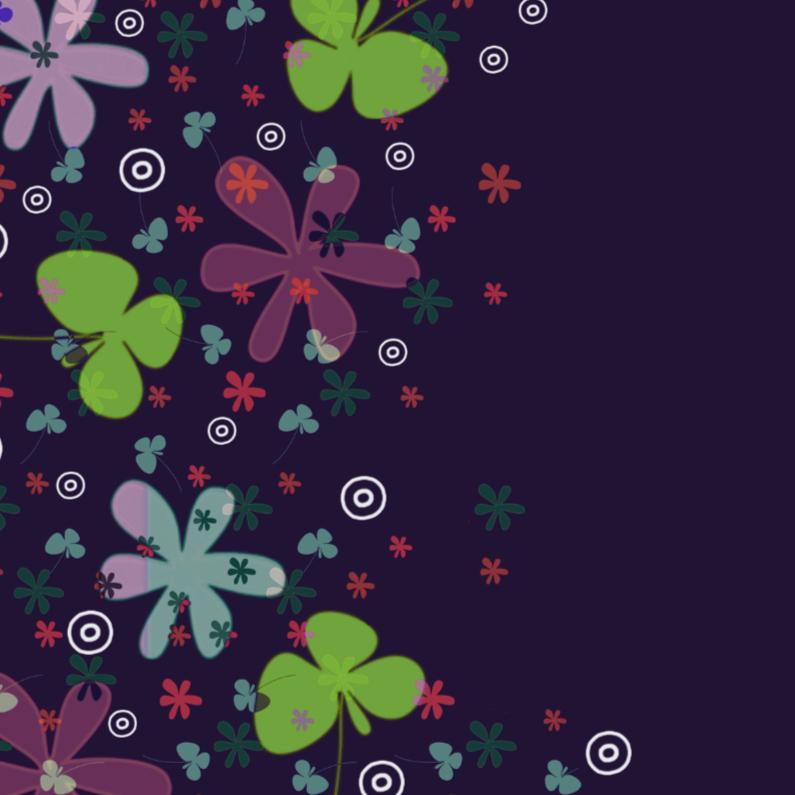 Bloemenkaarten - Vrolijk gekleurde bloemen