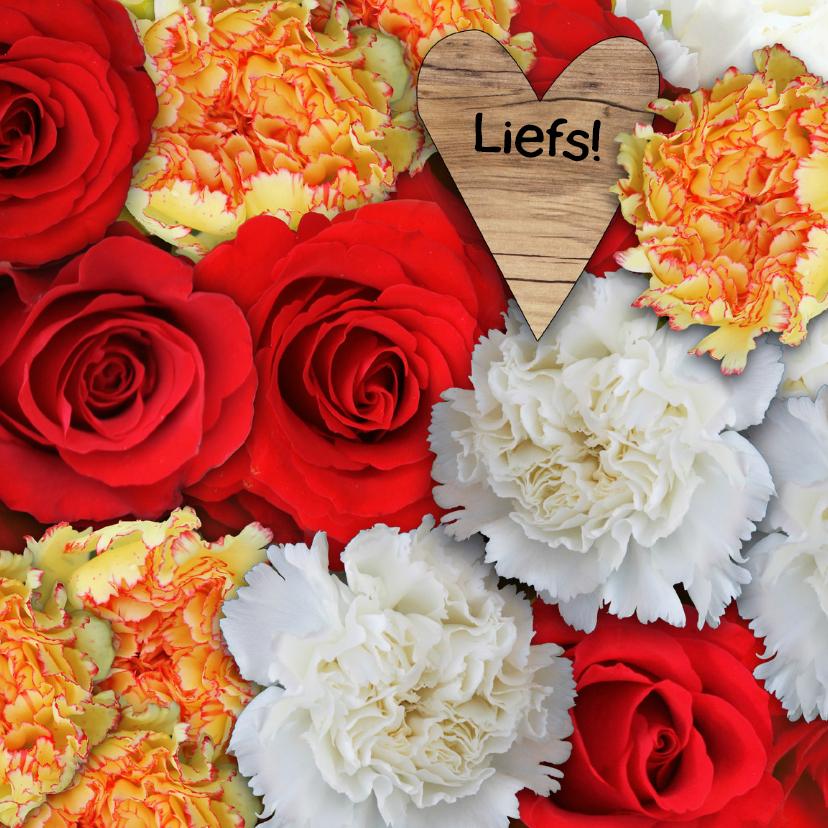 Zomaar kaarten - Zomaar, fleurige bloemen - AZ