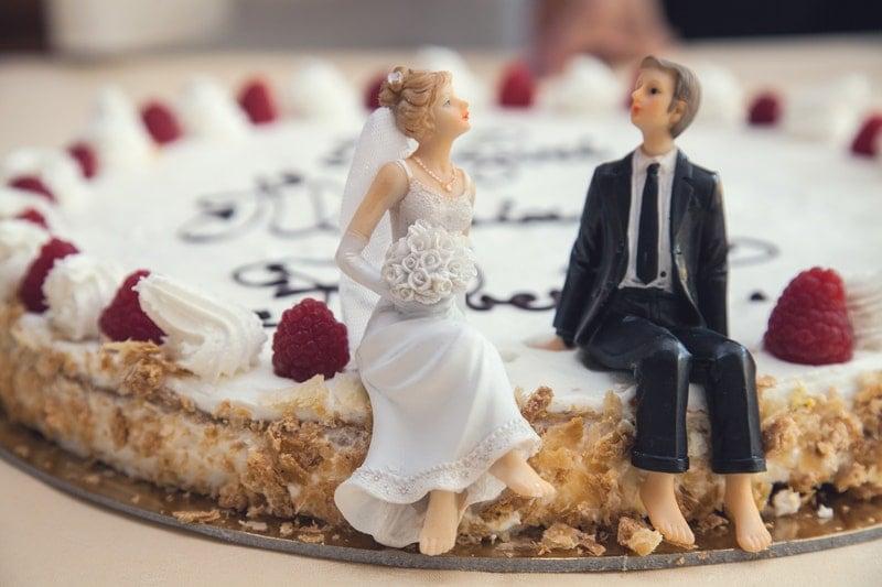 25 jarig huwelijk cadeau bruidstaart namaken