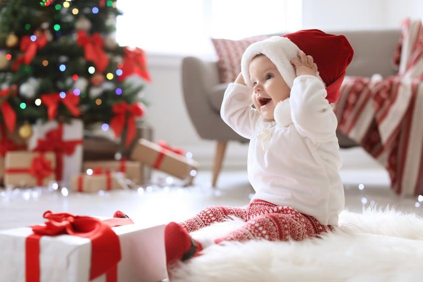 baby's eerste kerst