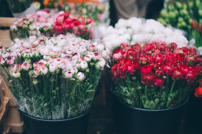 Bloemen voor Valentijnsdag