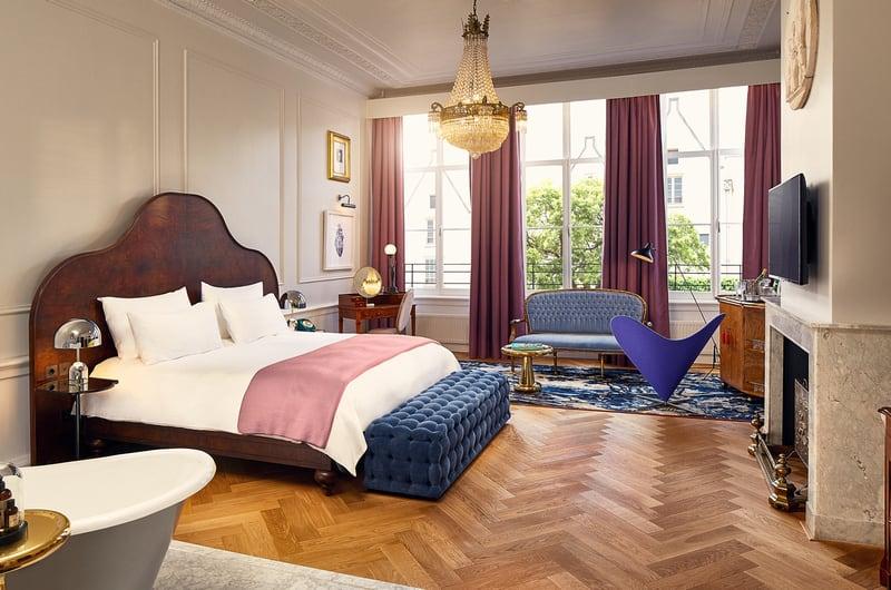 Bruidssuite Amsterdam Pulitzer Hotel Pulitzer Suite