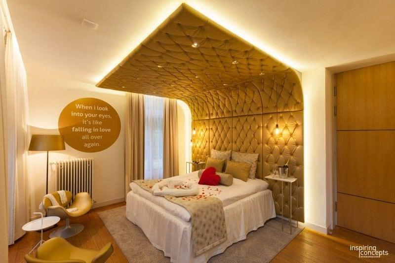 Bruidssuite met jacuzzi Hotel Groot Warnsborn