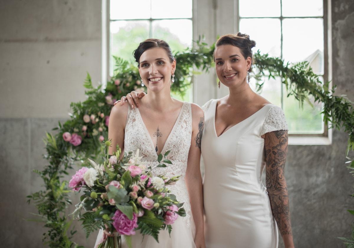Bruilofts thema roze