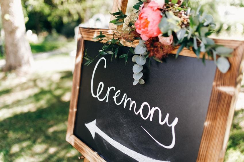 Dagindeling-bruiloft