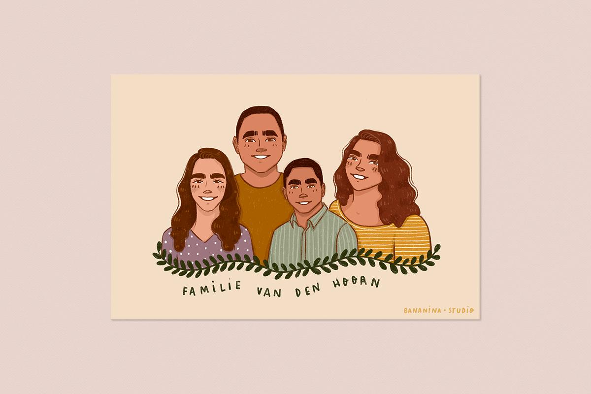 Familie tekening