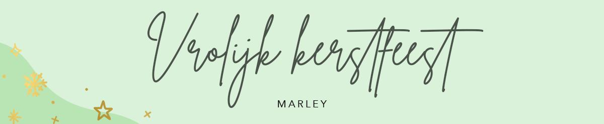 Handgeschreven letters Marley