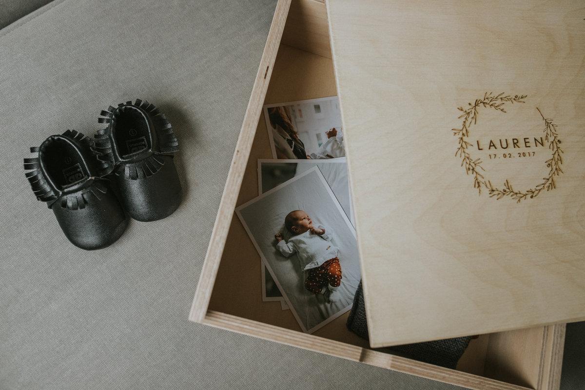 Kraamcadeau herinneringenbox