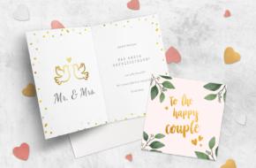 Huwelijks felicitatie