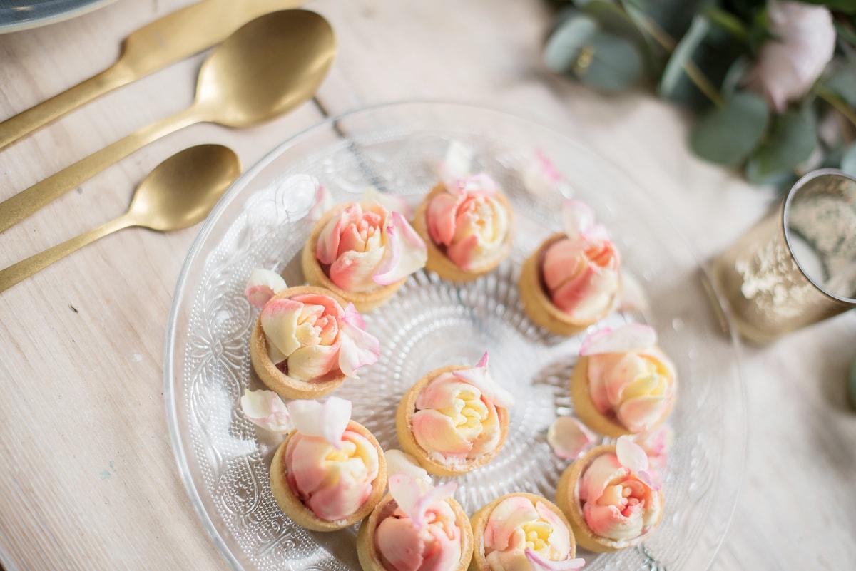 Huwelijks thema roze