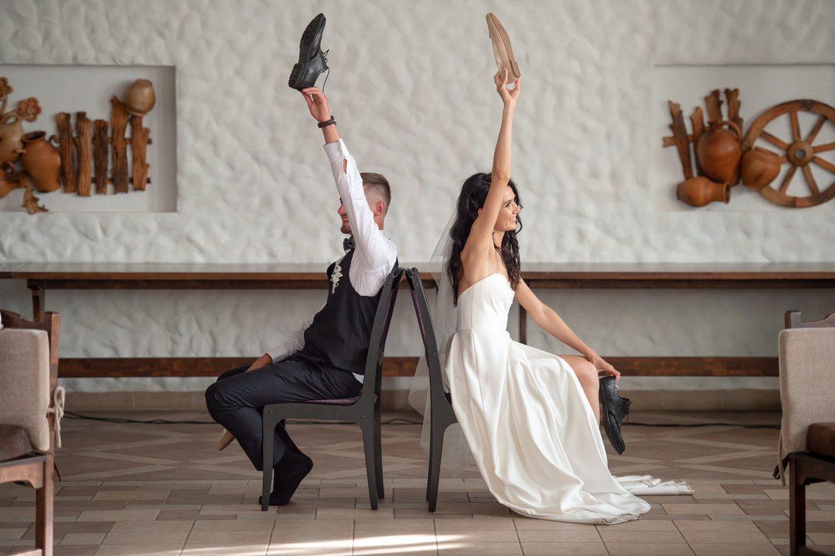 Huwelijksjubileum spel