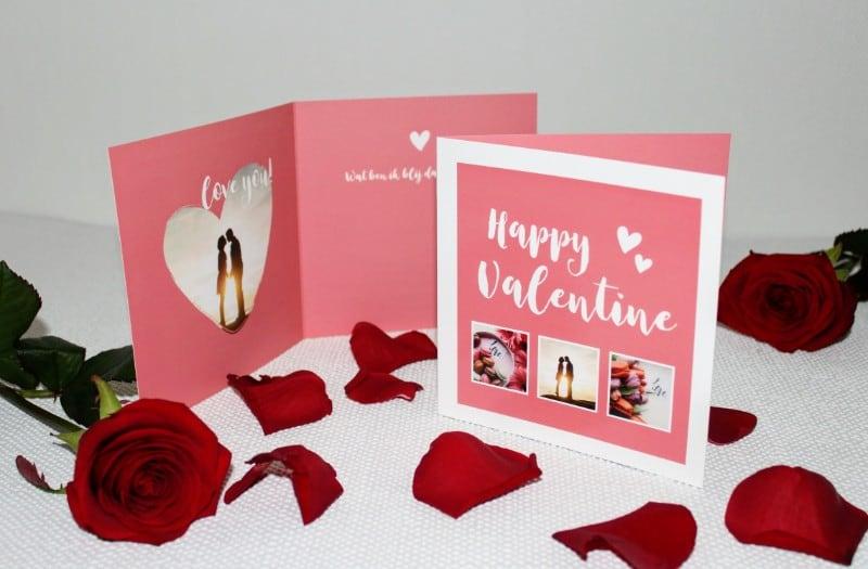Leuke valentijnskaarten met foto
