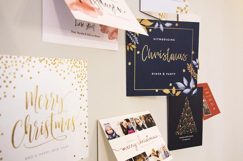Kersttraditie in Nederland kerstkaarten versturen