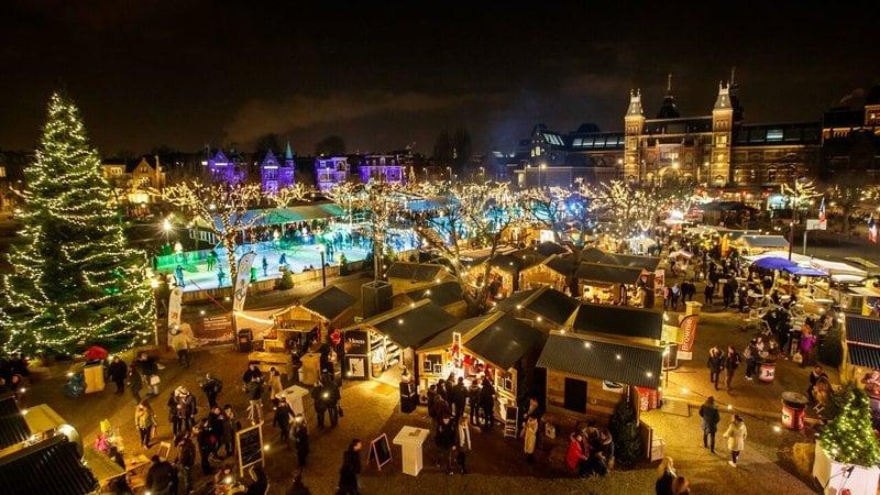 Ice Village kerstmarkt Amsterdam kerstmarkten 2018