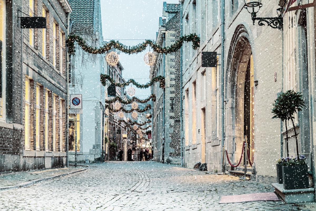 Kerst traditie witte kerst