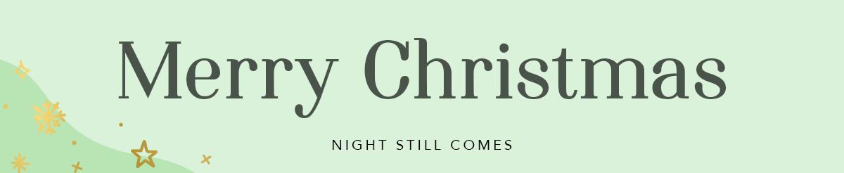 Gratis kerst lettertype downloaden Night Still Comes
