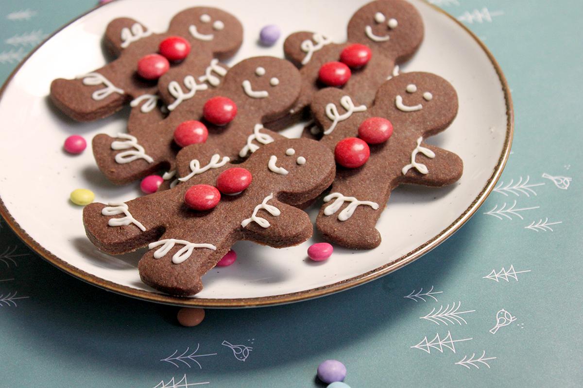 Kerstkoekjes versieren poppetjes