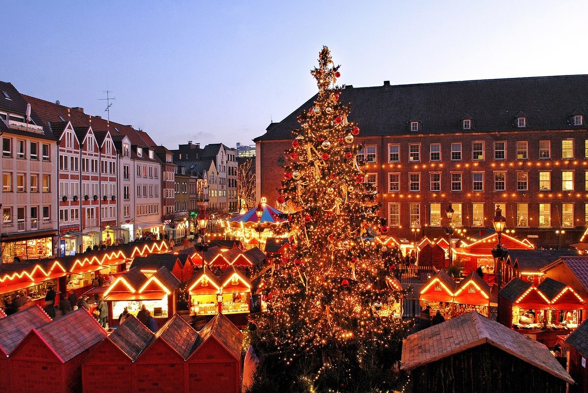 Kerstmarkt 2019 Düsseldorf
