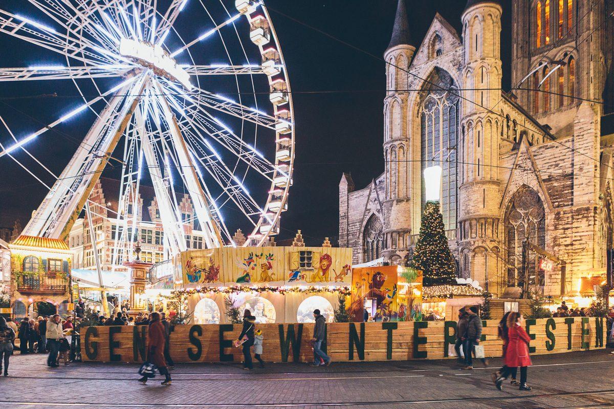 Kerstmarkt Gent Gentse Winterfeesten
