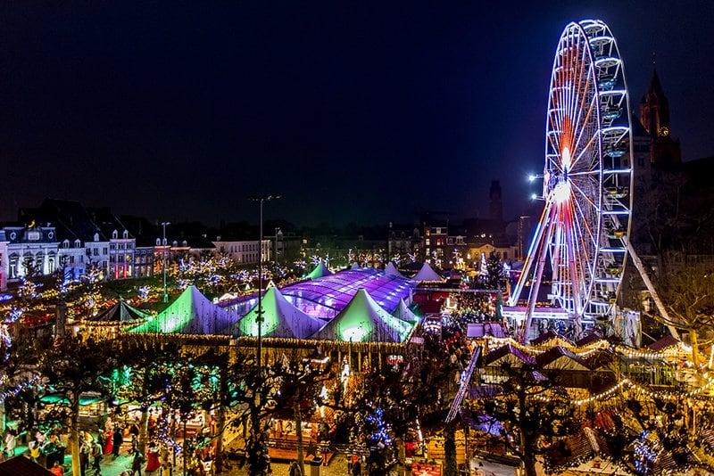Kerstmarkt Maastricht Magisch Maastricht op het Vrijthof kerstmarkten 2018