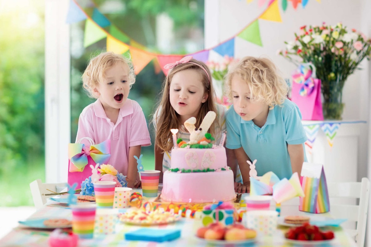 Kinderfeestje 4 jaar