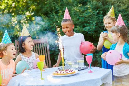 Kinderfeestje 8 jaar