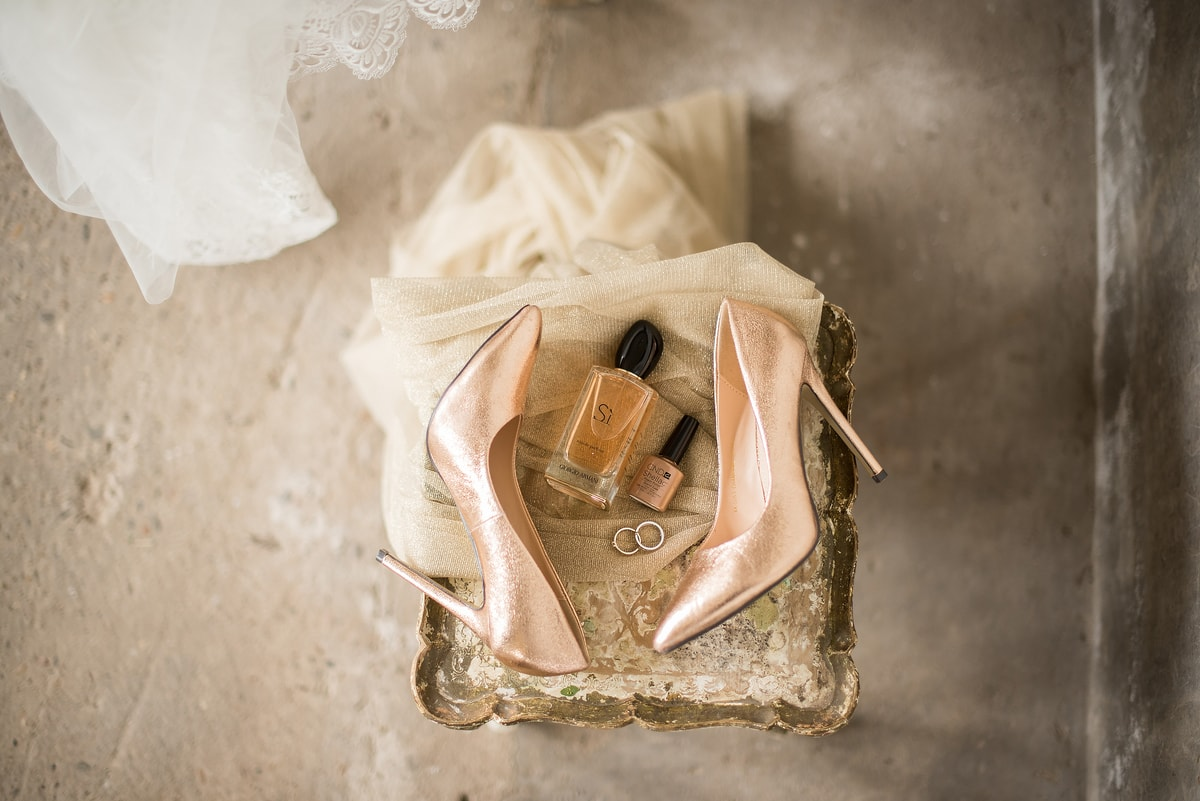 Bruiloft thema roze