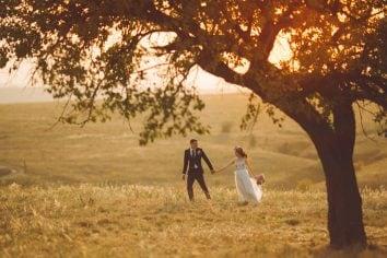 Locaties voor een bruiloft fotoshoot