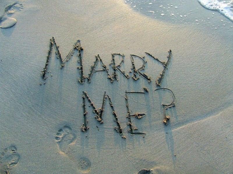 Spiksplinternieuw 26 originele huwelijksaanzoeken - Kaartje2go Blog CV-56