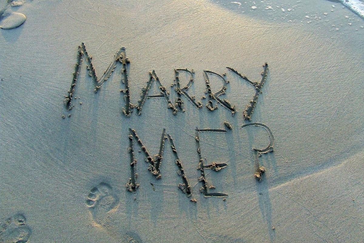 Originele huwelijksaanzoeken
