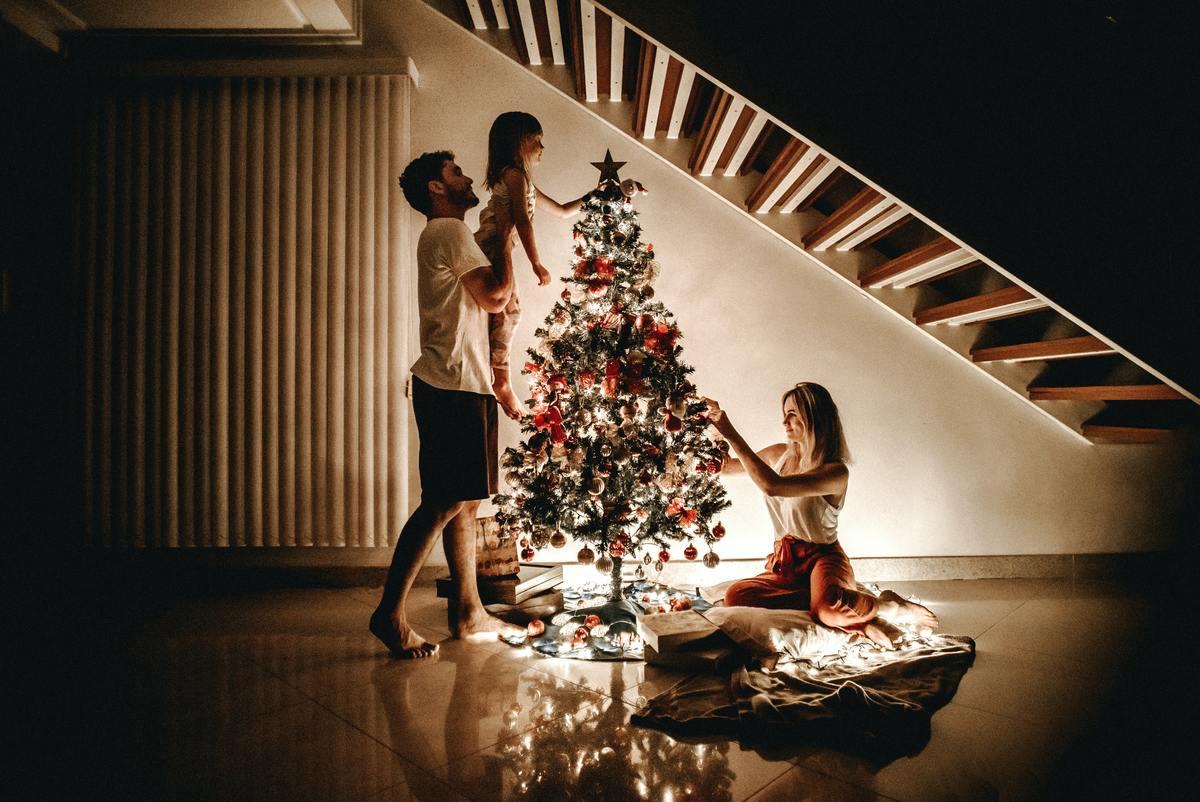 Originele kerstfoto maken leuke ideeën