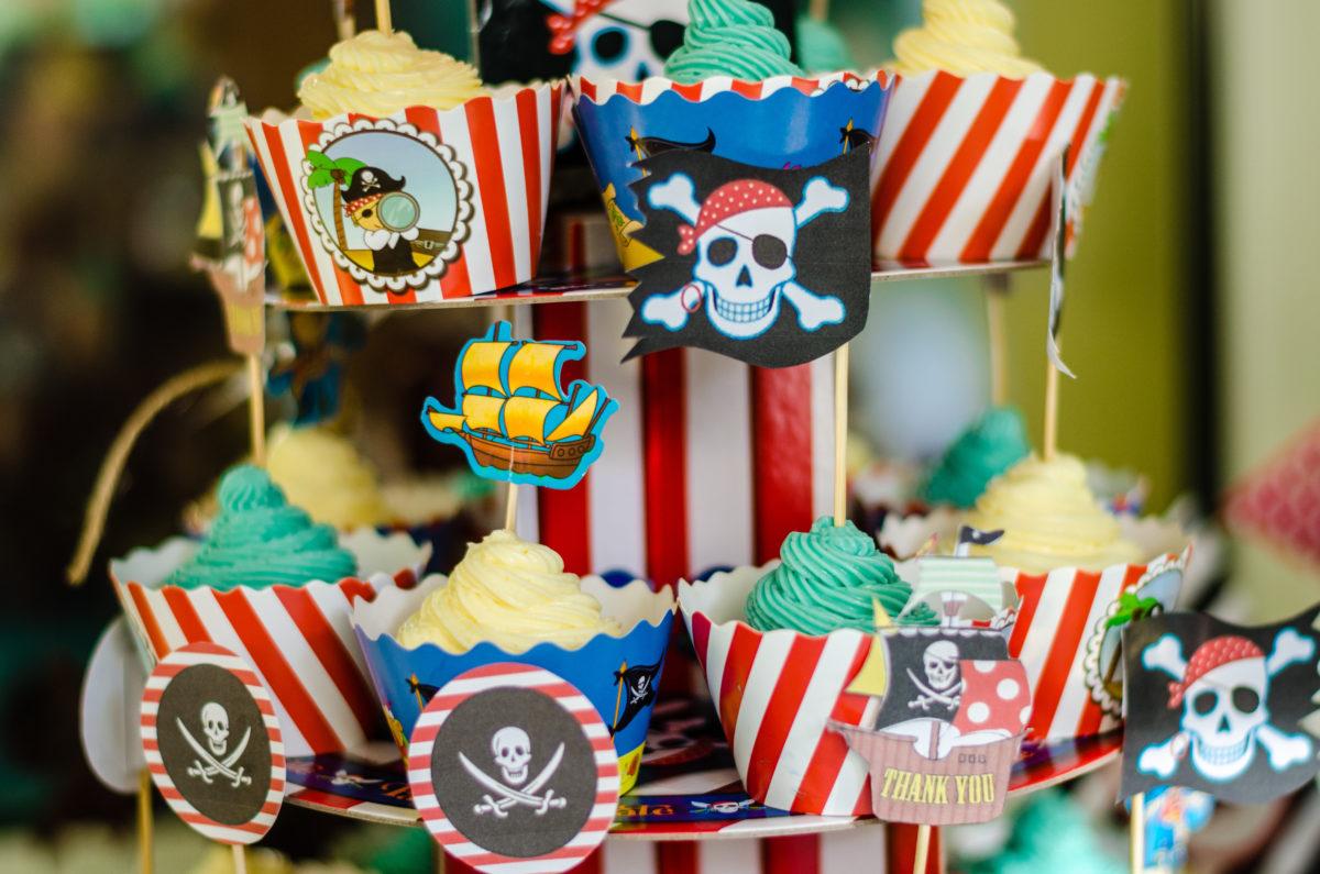 Piraten kinderfeestje eten drinken