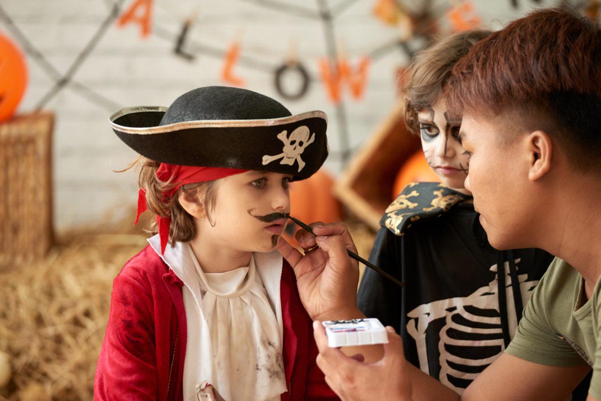 Piraten feestje verkleden