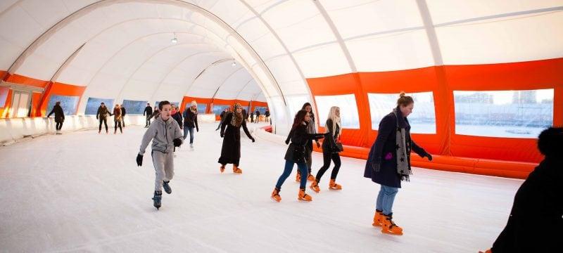 Schaatsbaan Rotterdam: leukste kunst ijsbanen van Nederland