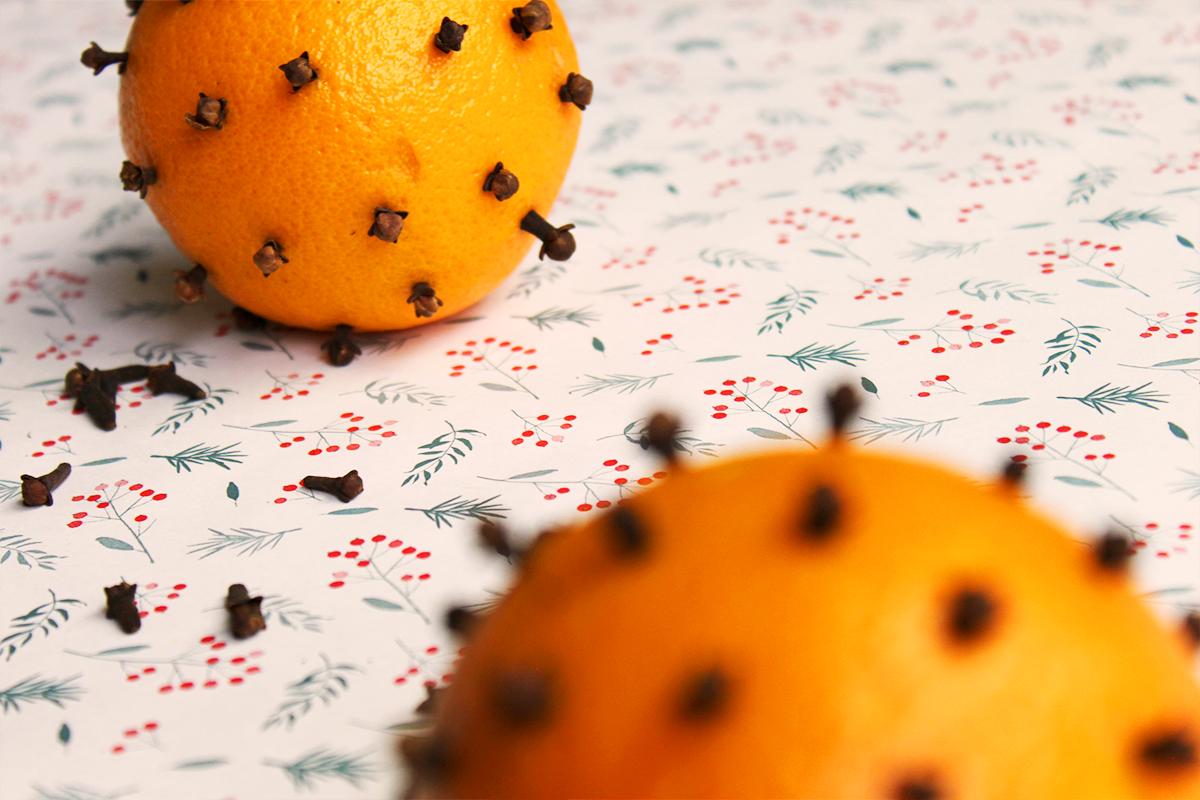Sinaasappel kruidnagel geur