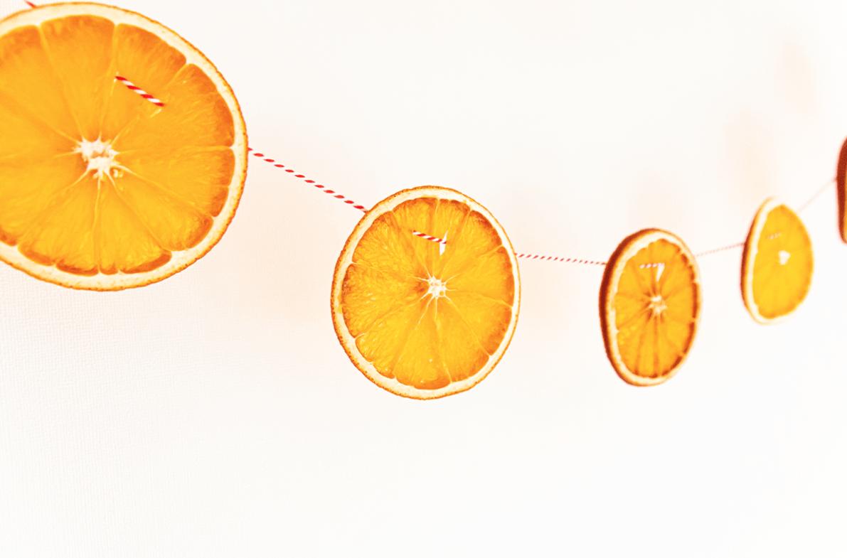 Sinaasappel slinger diy