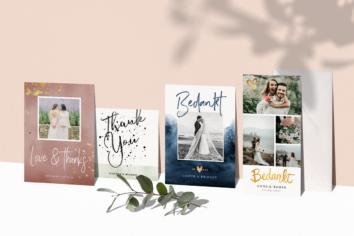 tekst bedankkaartjes bruiloft