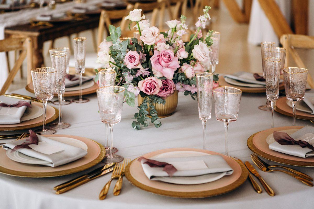 Bruiloft thema goud