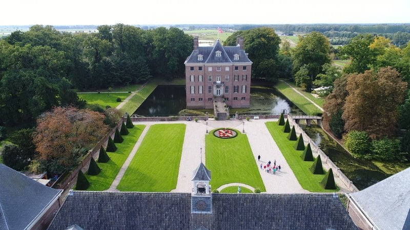 Trouwen in een kasteel in Kasteel Amerongen