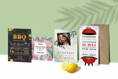 Tuinfeest uitnodigingen
