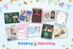 Uitnodigingen voor een verjaardag – in Duitsland!