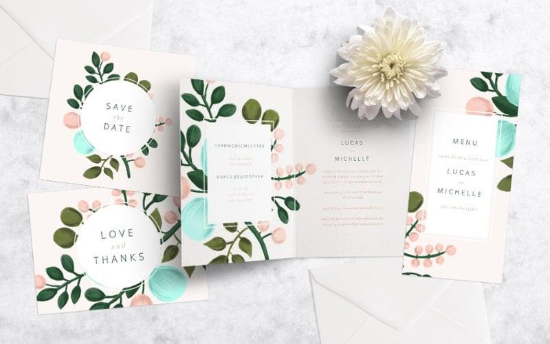 Unieke trouwkaarten maken