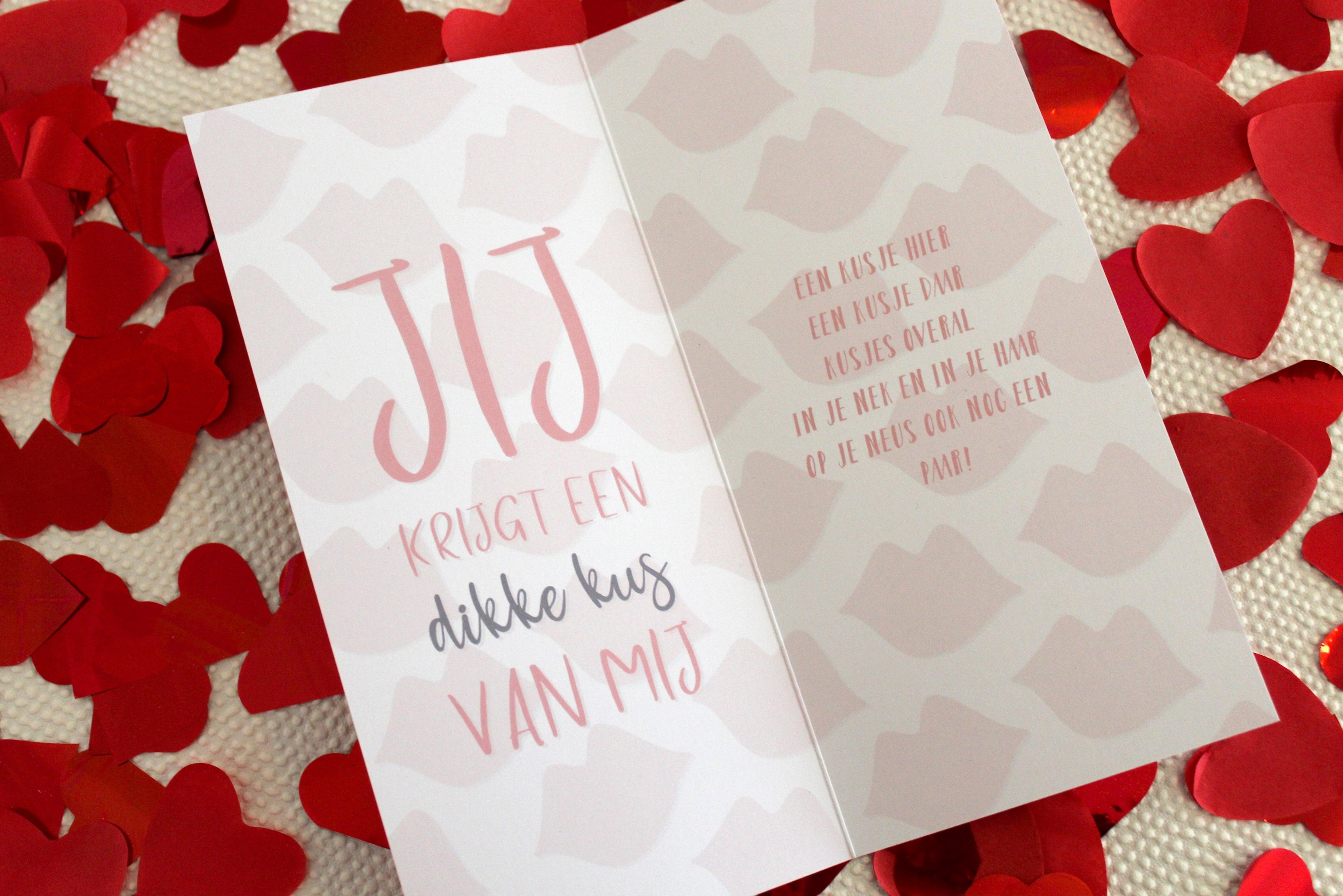 Valentijnskaart: wat zet je erin?