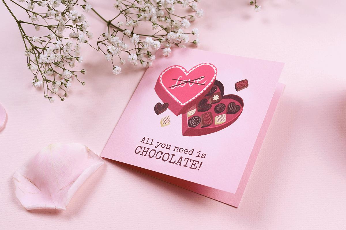 Valentijnskaart voor dochter, moeder of beste vriendin