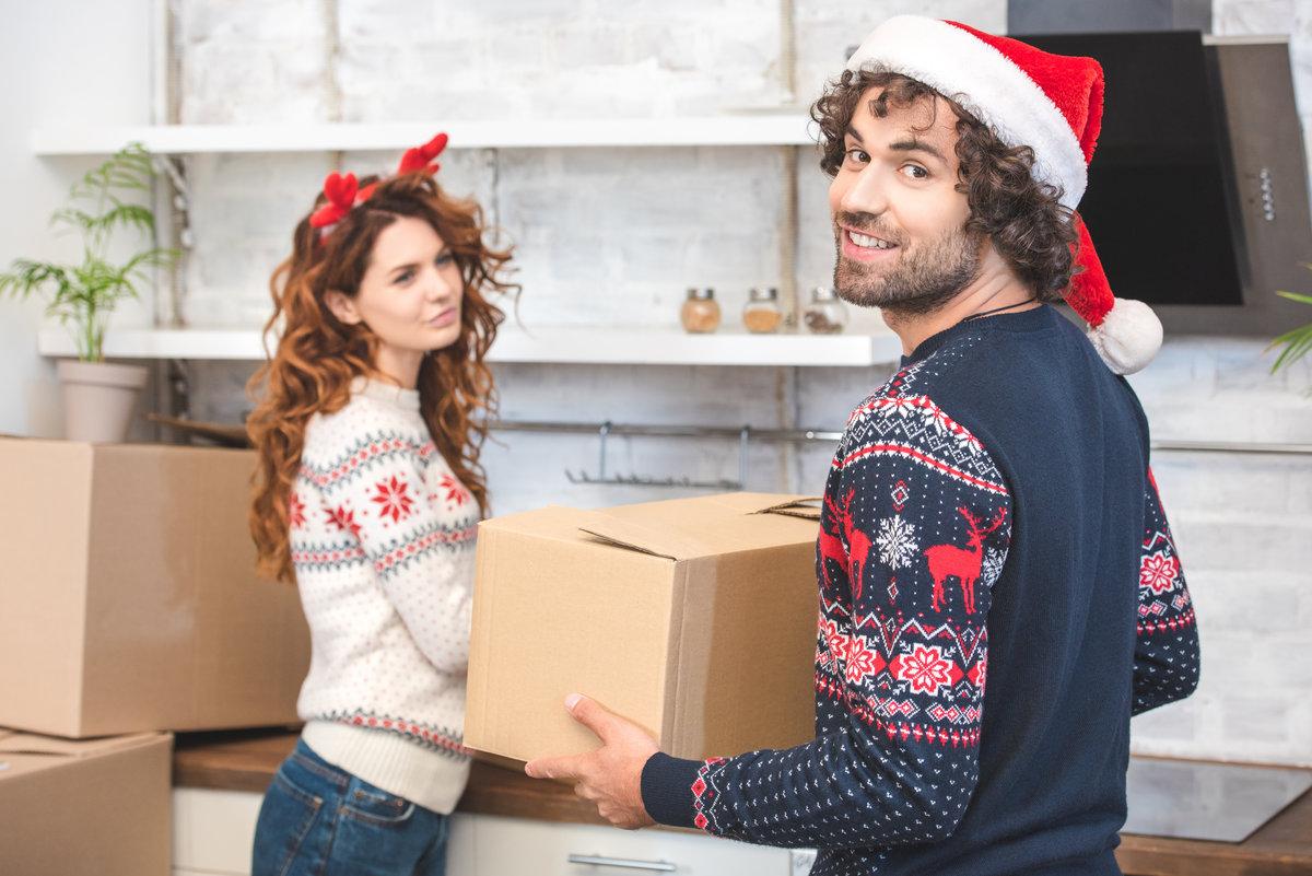 Verhuizen rond kerst