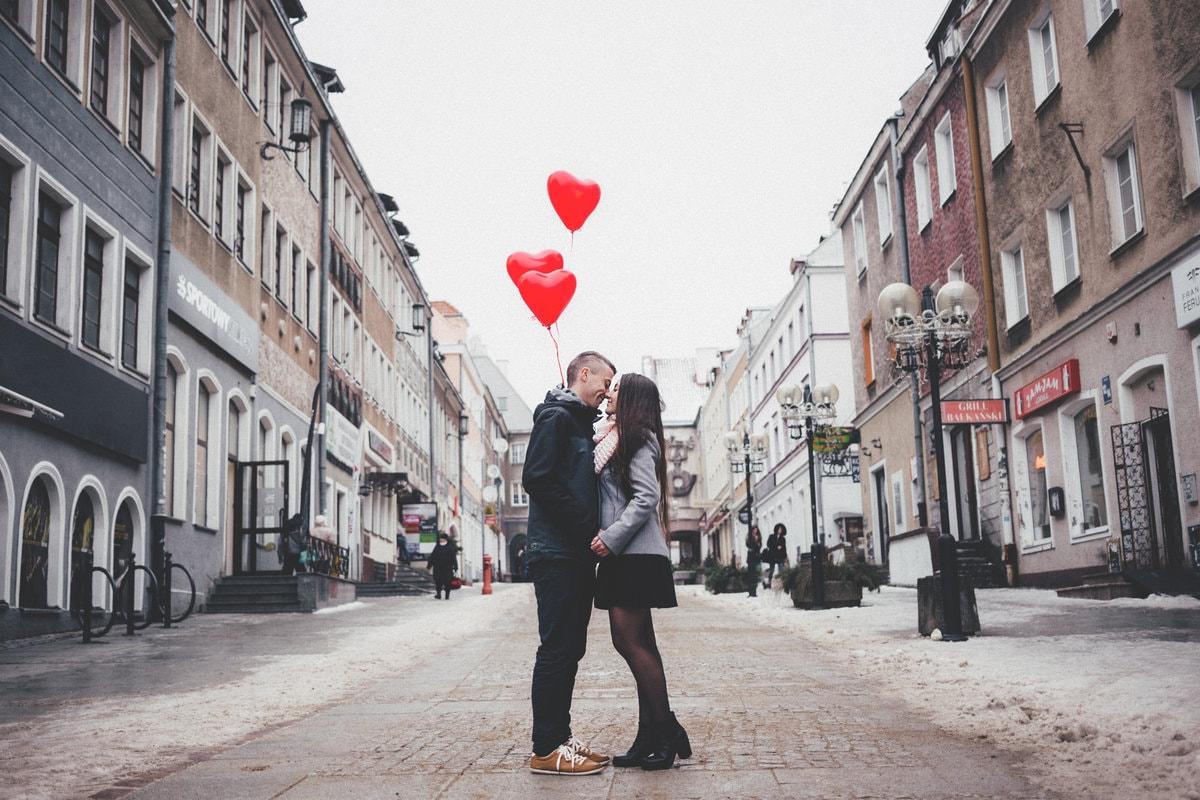 Vriend verrassen met valentijn