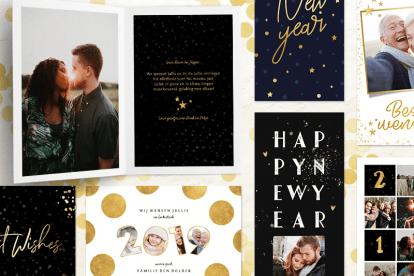 Wat zet je op een nieuwjaarskaart?