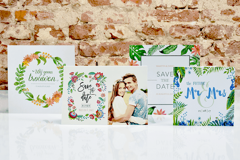 Trouwkaarten maken: hoe maak je een trouwkaart?